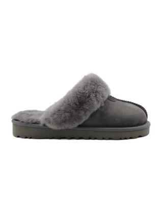 UGG Women's Slipper Coquette Grey Домашние тапочки угги серые