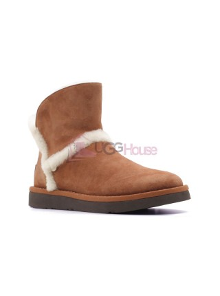 UGG Luxe Spill Seam Mini Boot Bruno