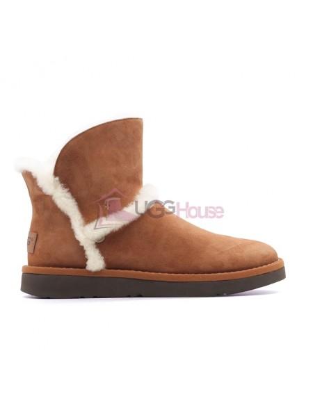 UGG Luxe Spill Seam Mini Boot Bruno