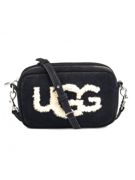 Сумка UGG Janey Sheepskin Crossbody Черная