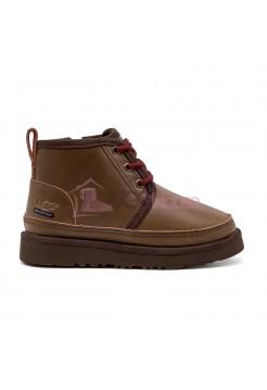 Ботинки Детские UGG Kids Neumel II WP Zip Boot - Grezzly
