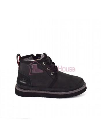 Ботинки Детские UGG Kids Neumel II WP Zip Boot - Black Черные