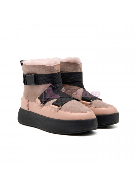 UGG Classic Boom Buckle Boot Pink Crystal