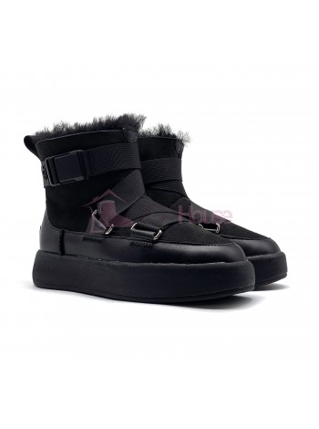 UGG Classic Boom Buckle Boot Pink Black