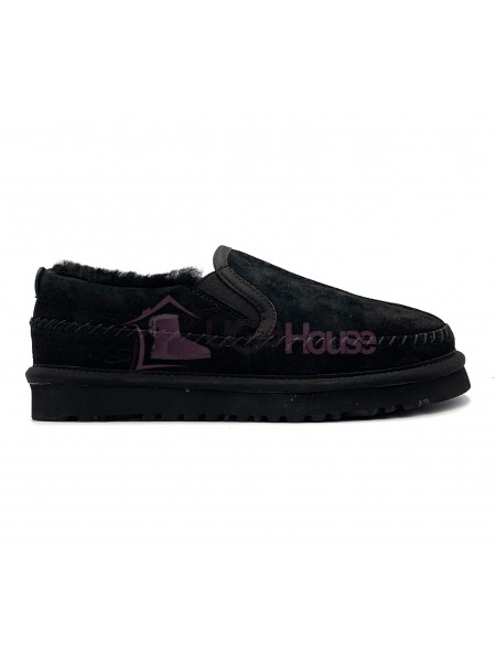 UGG Stitch Slip On Black