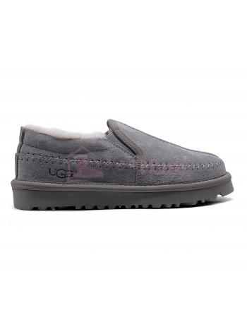 UGG Stitch Slip On Grey
