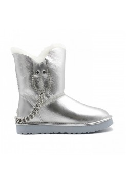 UGG Classic Short Silver Chain