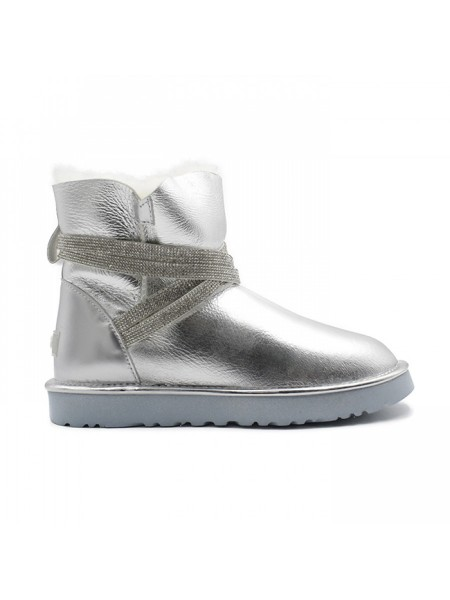 UGG Classic Short Silver Rock