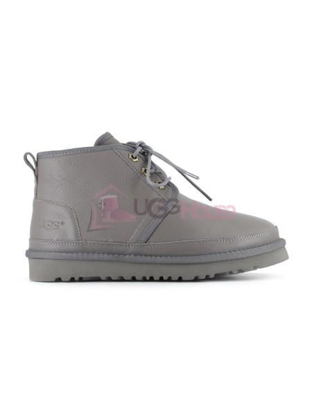 Ботинки UGG Neumel Серые Кожаные