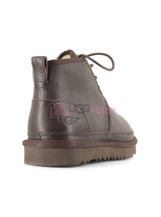 Ботинки UGG Neumel Chocolate Шоколадные Кожаные