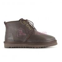 Мужские кожаные ботинки UGG Neumel II шоколад