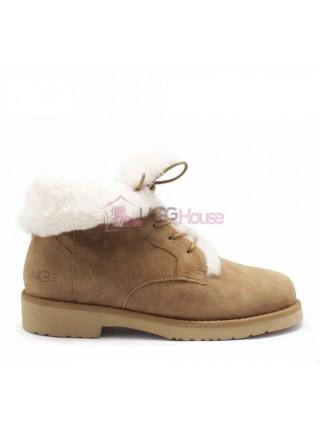 UGG Womens Quincy Boot Chestnut Рыжие