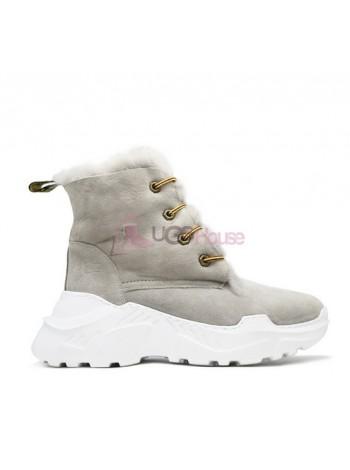 Кроссовки угги UGG Sneakers Grey женские зимние