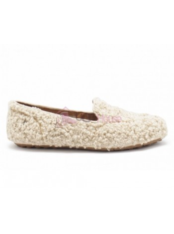 UGG Womens Hailey Fluff Loafer Biege