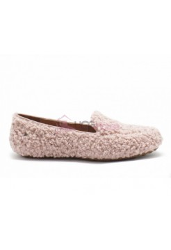UGG Womens Hailey Fluff Loafer Dusk