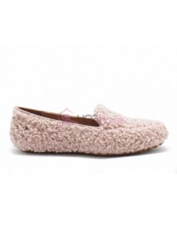 UGG Womens Hailey Fluff Loafer Dusk