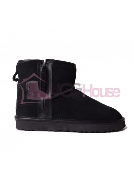 UGG Mini Zip Boot Black