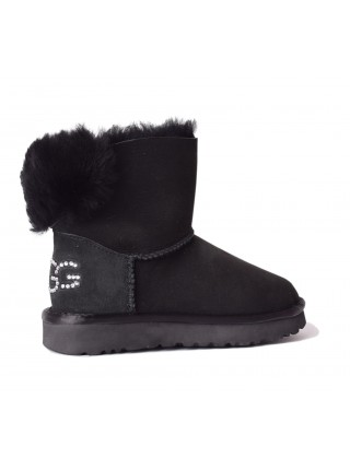 UGG Womens Classic Mini Bling Black