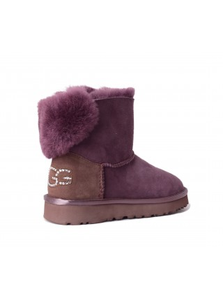 UGG Womens Classic Mini Bling Port