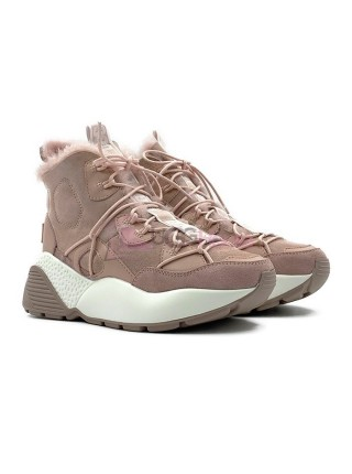 Кроссовки угги UGG Sneakers Cheyenne Trainer Pink