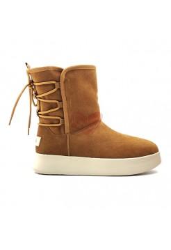 Женские Ботинки UGG Boom Boot - Chestnut