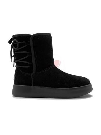 Женские Ботинки UGG Boom Boot - Black