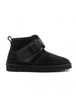 Ботинки женские UGG Neumel Snapback - Black