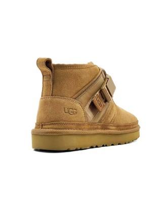 Ботинки женские UGG Neumel Snapback - Chestnut