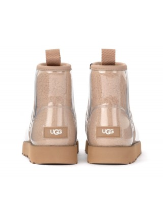 UGG Classic Clear Mini - Natural/Chestnut