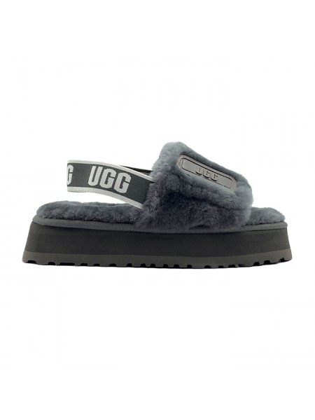 UGG Disco Slide Sandal - Grey