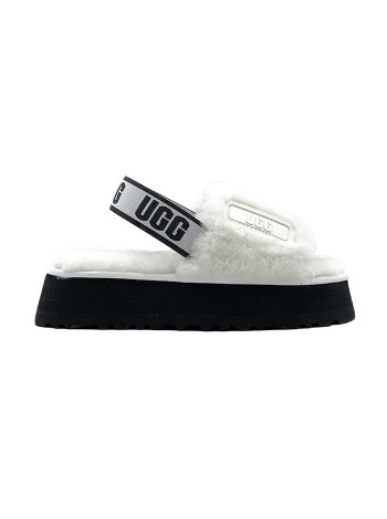 UGG Disco Slide Sandal - White