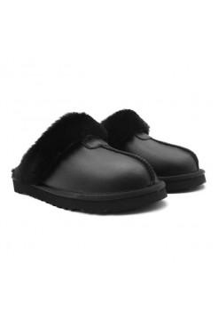 UGG Slippers Scufette Metallic Black