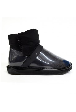 Непромокаемые UGG Clear Quilty Boots - Black