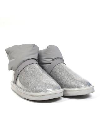 Непромокаемые UGG Clear Quilty Boots - Grey