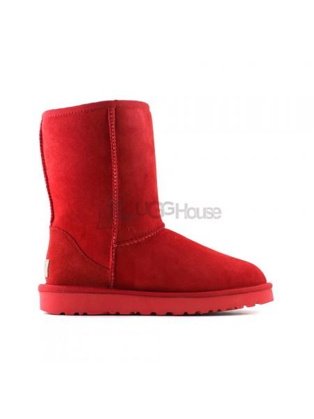 Угги Короткие Непромокаемые - Total Red