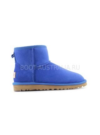 UGG Australia Classic II Mini Aquamarin Угги мини непромокаемые голубые