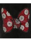 UGG Australia Classic Short Minnie Crystal Угги классические черные с бантиком Минни Маус