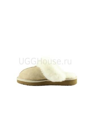 UGG Women's Slipper Coquette Sand Тапочки на меху бежевые