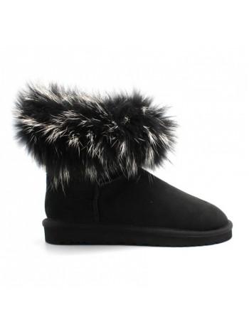 UGG Australia Fur Fox Black