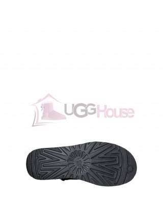 UGG Classic Short Croco Black Угги классически короткие черные Крокодил