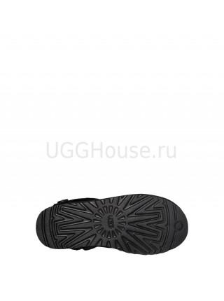 UGG Australia Shaina Black Вязаные угги Шайна черные