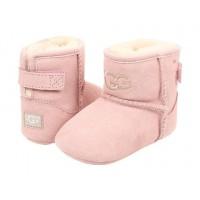 Пинетки для малышей на подошве UGG JESSE - Розовые