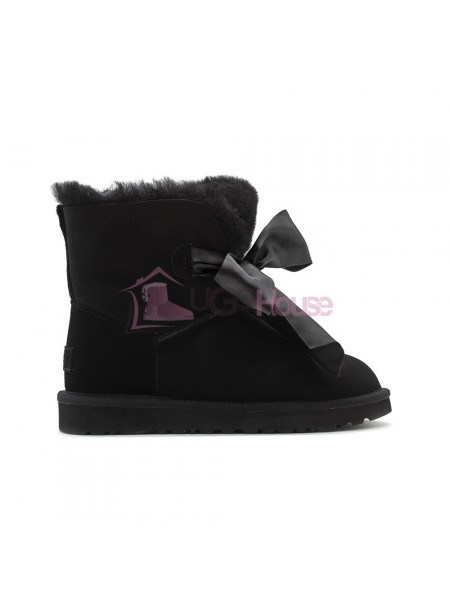 Угги UGG Gita Bow Mini - Черные