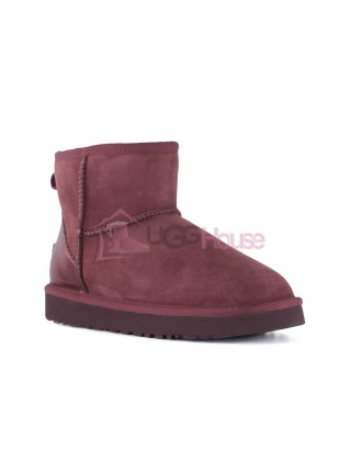 UGG Womens Classic Mini II Metallic Port