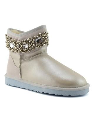 UGG Australia Mini Jewelled I Do Угги Мини с бусами и камнями (корона) Белые