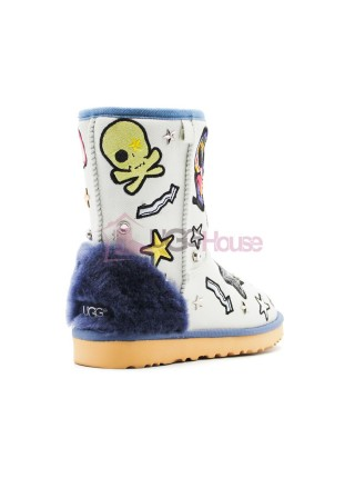 Угги UGG PATCH IT - BLEACH DENIM
