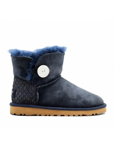 UGG Bailey Button Mini Perla Navy