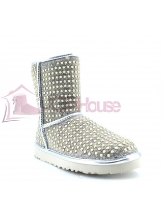 UGG Classic Short Pearl - Silver
