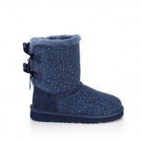 UGG Kids Bailey Bow Constellation Navy