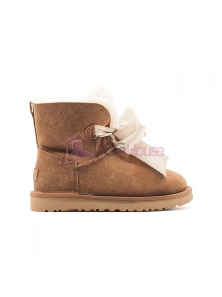 Угги UGG Gita Bow Mini - Рыжие